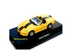 1:43 scale SHELBY series 1 YELLOW diecast model