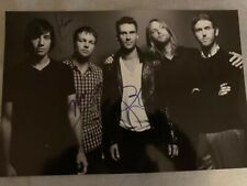 Maroon 5 Original Autogramm Signed Autograph IN PERSON 100% Adam Levine Inperson