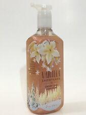 NEW 1 BATH & BODY WORKS VANILLA SNOWFLAKE CREAMY LUXE HAND SOAP WASH 8 FL OZ EA