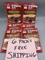 McCormick Au Jus Gravy Mix 1 oz (6) PACKS  🔥FAST FREE SHIPPING...🔥