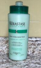 KERASTASE RESISTANCE BAIN VOLUMACTIVE VOLUMISING SHAMPOO  1000 ML / 34 OZ