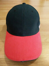 Craftsman Cap w 3 LED Lights 3 Settings Mechanic Work Hat Strapback Black Red
