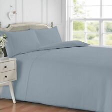 Waffle Grey Textured Duvet Cover and Pillowcase Bedding Set