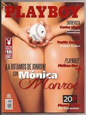 PLAYBOY VENEZUELA NOVEMBER 2015 COVER MONICA MONROE PLAYMATE MELISSA RAE