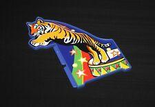 Playmobil cirque support bleu autocollant tigre côté droit 4230 5057