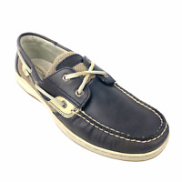 Sperry Top-Sider Mens A/O Original 2-Eye Boat Shoes Navy Blue Lace Up Size 10 M