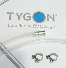 Tygon 2375 tubing 8mm + ALUMINIUM PLUG+SS CLAMPS reservoir hose ID 30cm TBE.012