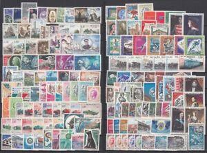 MONACO Jahrgänge 1965-1969 postfrisch/** komplett
