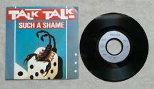 """DISQUE VINYLE 45T 7"""" SP MUSIQUE / TALK TALK """"SUCH A SHAME"""" 1984 POP"""