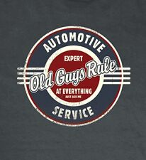 "OLD GUYS RULE "" AUTOMOTIVE REPAIR "" EXPERT ON EVERYTHING...JUST ASK ME S/S 2X"
