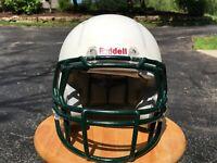 RIDDELL  Youth Football Helmet Medium White / Green Recertified 2019