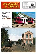 CHEMINS de FER RÉGIONAUX et URBAINS - N° 286 (2001 - 4) (FACS - CFRU) (Train)