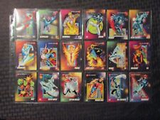 1992 MARVEL SUPER-HEROES Trading Card LOT of 203 NM 9.4 Impel w/ 3 Holograms