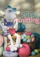KNITTING PATTERN Alan Dart Simply Knitting Sheep 33cm tall Wearing Dress Sirdar