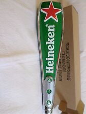 "NIB Large Heineken Red Star 3 sided 11.5"" Beer Keg Tap Handle Marker Shift Knob"