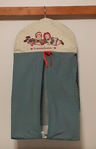 Raggedy Ann and Andy Hanging Diaper Storage Bag