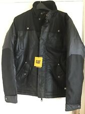 Cat Caterpillar Water Resistant Jacket Excusion Insulated Jacket Size S Black