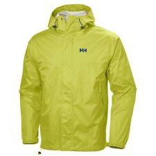 Helly Hansen Loke Waterproof Rain Jacket Bright Chartreuse Men's Medium M BNWT