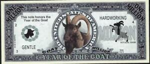YEAR OF THE GOAT 🐐🐐💶🐐 Million Fantasy Note 💴🐐🐐 Buy More 💲 Save More