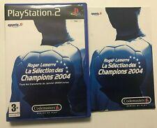 Roger Lemerre la Sélection des Champions 2004 PS2