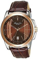 Brown Man pvp Watch Kenneth Cole Ikc8096