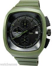 Adidas Men's Toronto Originals Chrono  45mm x 42mm Green Rubber Watch ADH2135