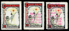 1933 Columbia Red Cross #1 - Three Varieties, SCARCE