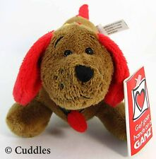 Tangled Digger Dachshund Dog Ganz Plush Stuffed Animal Wiener Xmas Lights BNWT