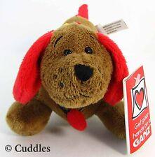 Tangled Digger Dachshund Dog Ganz Plush Stuffed Animal Wiener Xmas Lights BNWT