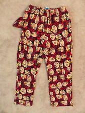 STEWIE Bad Boy LOUNGE PANTS Mens MED Fleece Family Guy Griffin Evil Obey Me Red