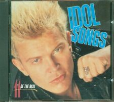 Billy Idol - Idol Songs 11 Of The Best 1St Uk Press Chrysalis Nimbus Cd Perfetto