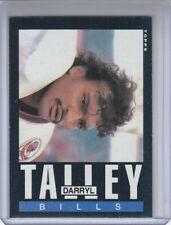 1985 Topps Rookie Card #207 Darryl Talley Bills