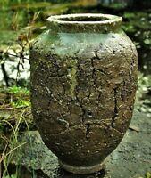Studio Art Pottery.. Japanese style vase / jar ...Wabi Sabi... John Wright