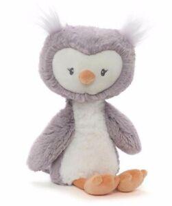BABY TOOTHPICK OWL PLUSH SOFT TOY 25CM STUFFED ANIMAL BY GUND - BNWT