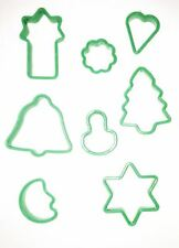 8 Christmas Cutters Biscuit Cookie Dough Pastry Cake Mould Xmas Gift Baking Toy
