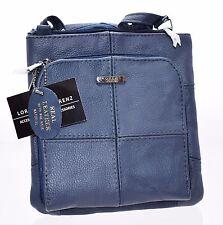Lorenz Genuine Cowhide Leather Ladies Cross Body Shoulder Bag Real Womens Small