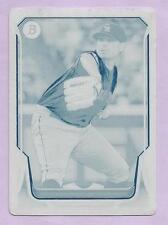 2014 Bowman Baseball Jorge De La Rosa Cyan Printing Plate Rockies One of One 1/1