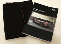 Genuine MINI CLUBMAN 2015–2018 HANDBOOK OWNERS MANUAL ONBOARD MONITOR WALLET