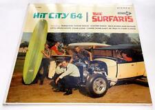 The Surfaris Hit City 64 1964 Decca DL 7448 Surf Rock 33rpm Stereo LP Strong VG+