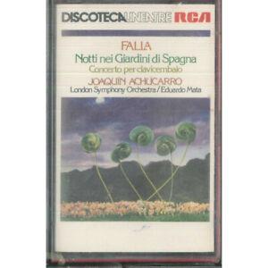 Joaquin Achucarro MC7 Falla: Nei Giardini Di Spagna / RCA – VK 71228 Sigillata