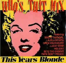 "Madonna Whos That Mix US  12"" This Years Blonde Megamix"