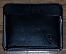 *BIG SALE* Guess Mens PASSCASE Bifold Wallet BLACK by Marciano