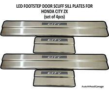 LED Footstep Scuff plates Sill plates for Honda City I-Vtec SET OF 4PCS