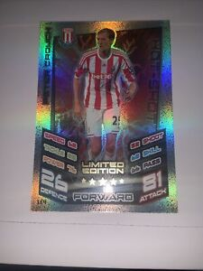MATCH ATTAX 2012/13 PETER CROUCH LIMITED EDITION LE4 MINT