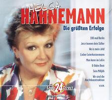 HELGA HAHNEMANN - 3 CD - Die größten Erfolge