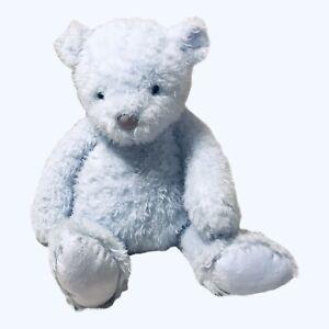 "Jellycat Plush Blue Teddy Bear Soft & Cuddly For Baby Retired Stuffed Animal 17"""