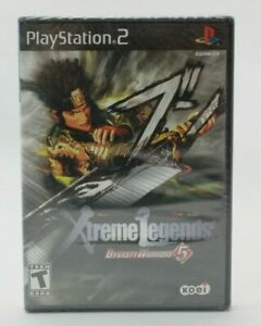 Dynasty Warriors 5 Xtreme Legends (Playstation 2 PS2) Brand New Sealed