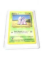 NIDORAN - Base Set - 55/102 - Common - Pokemon Card - Unlimited Edition - NM