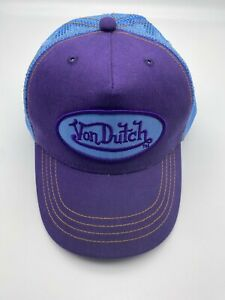 New Von Dutch Originals Authentic Trucker Cap Snapback Kids Size!