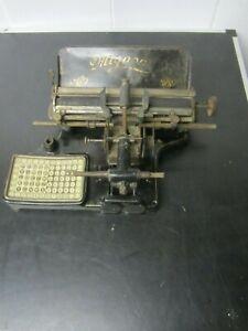 Schreibmaschine Mignon